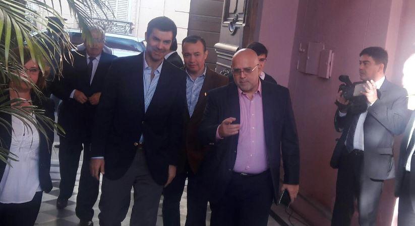 Urtubey llega a casa de gobierno