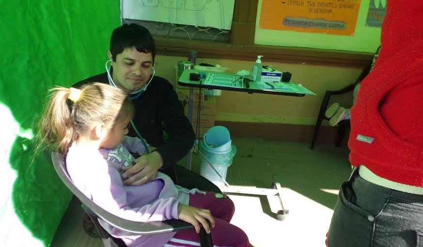 operativo de salud en itati