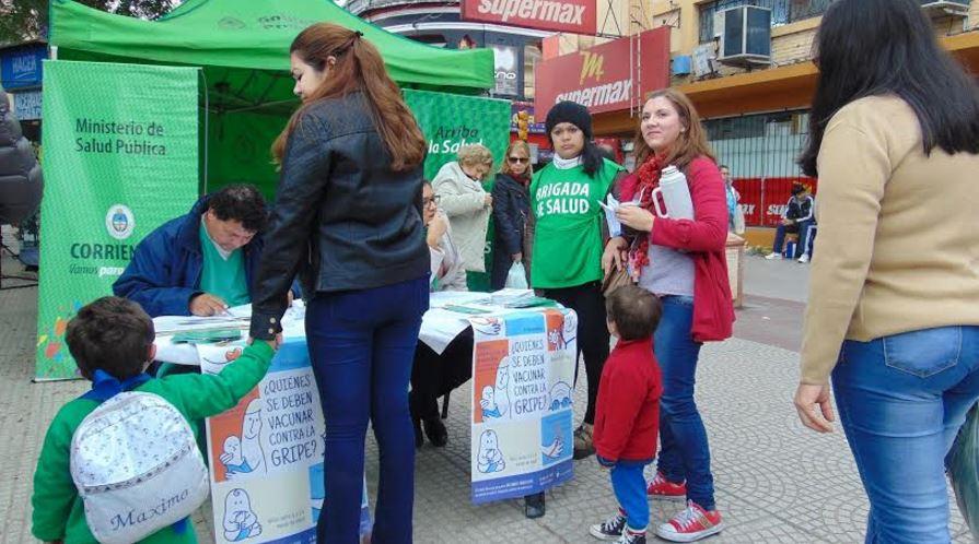 vacunacion en plaza vera 24 de junio