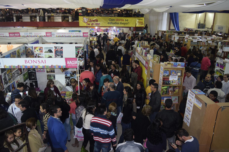 Feria Popular del Libro 2016 - salon de ventas