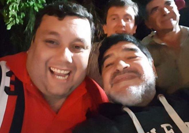 Nelson y Maradona