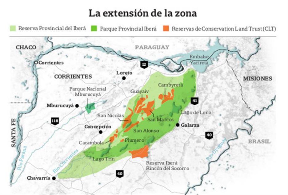 Ibera - Área protegida