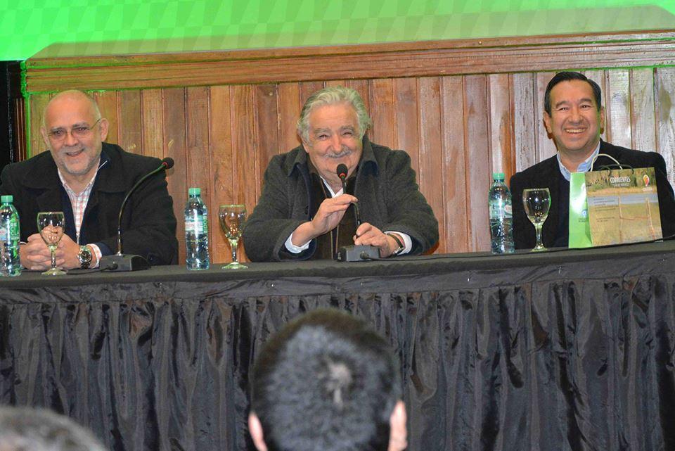 Pepe Mujica en la feria del libro