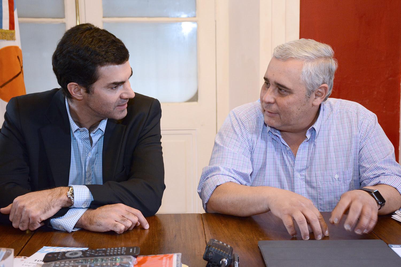 Urtubey con Ríos