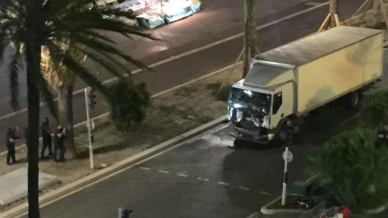 camión atentado en niza