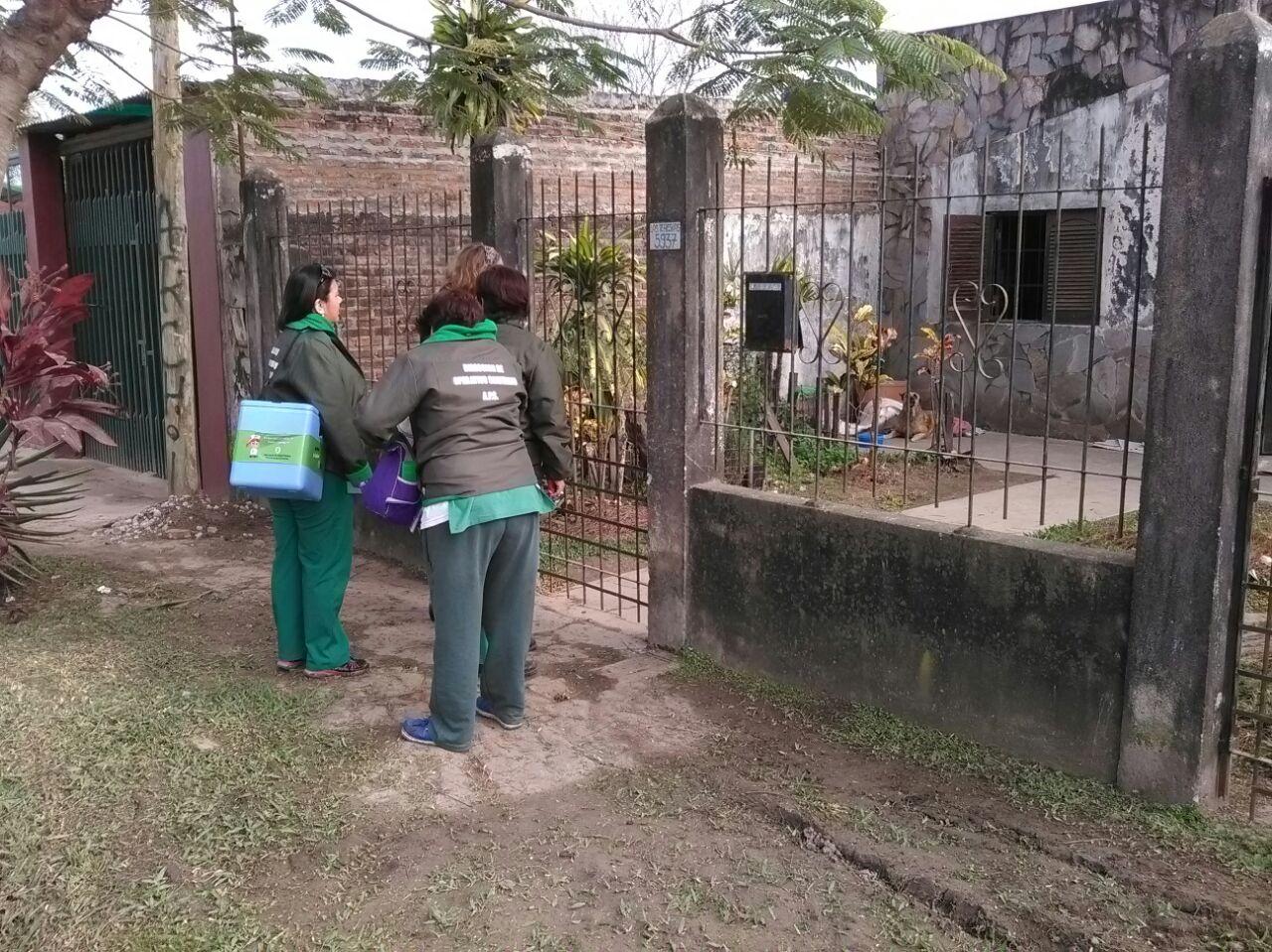 Vacunación en barrios