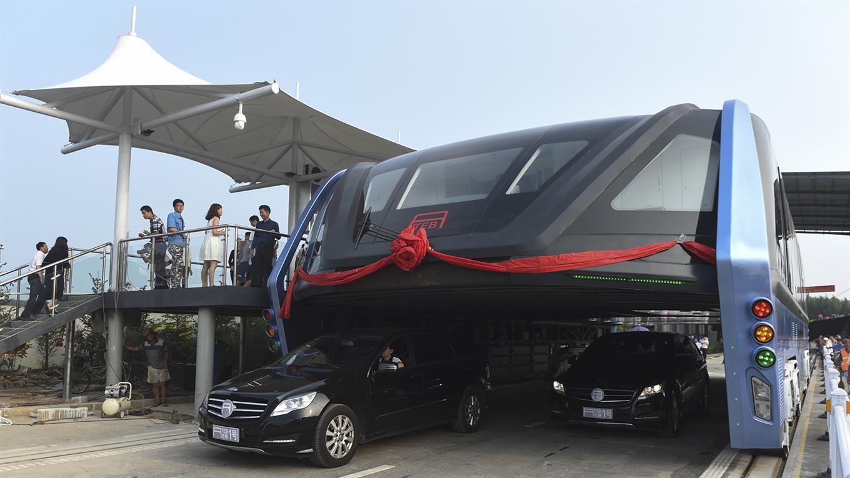 autobus gigante chino