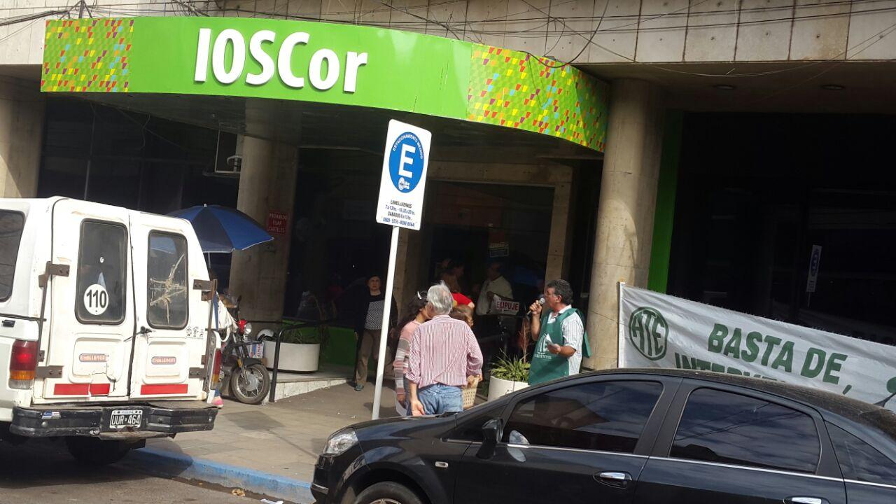 protesta de empleados de ioscor