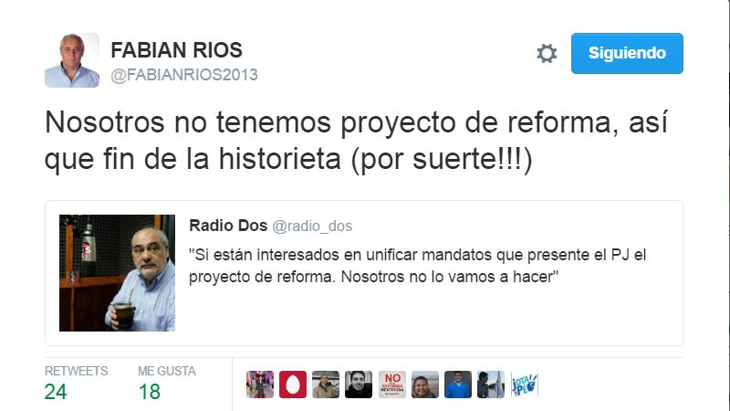 rios colombi twitter reforma