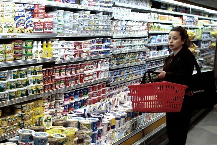supermercado y canasto