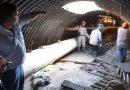 Construyen los primeros 50 metros de base del conducto subterráneo de la avenida Romero