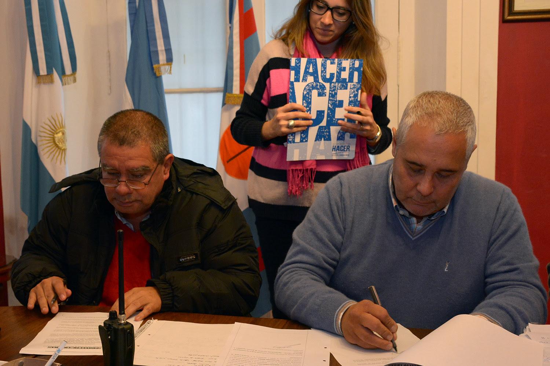 firma convenio chacra