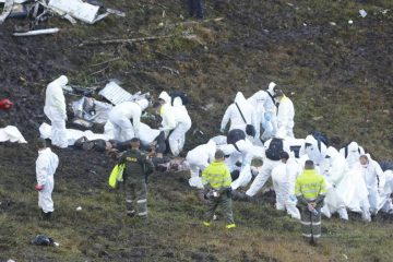 avion-chapecoense-investigadores-lugar-del-accidente