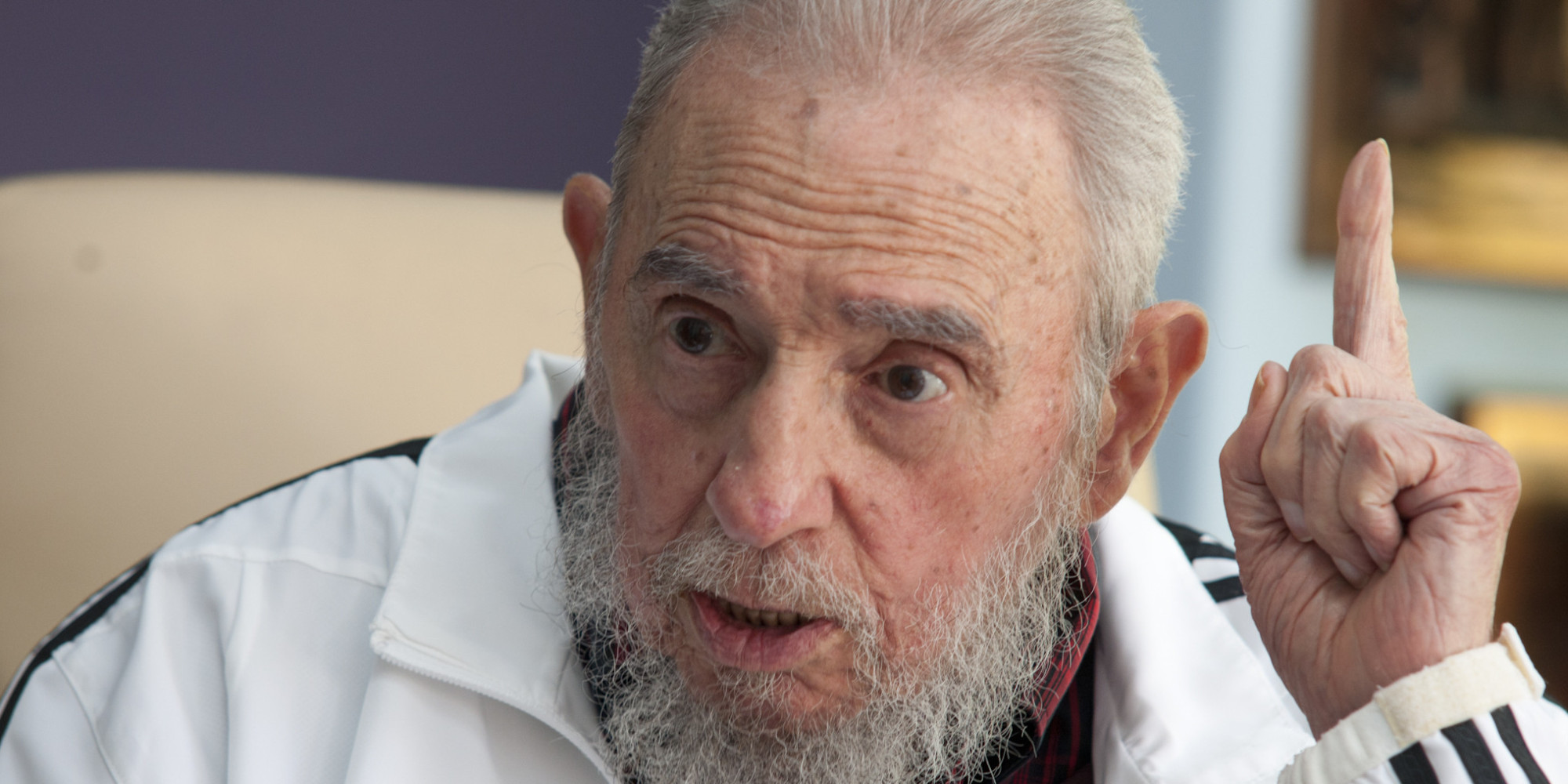 Fidel Castro el 7 de julio de 2014 (AP Photo/Alex Castro, File)