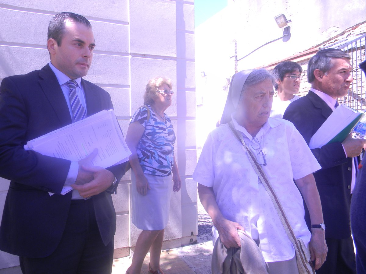 """Hermana Pelloni, tras el fallo: """"Esto es un papelón de la justicia, esto no puede pasar, es muy injusto"""" PH: @JuanCruzGoya"""