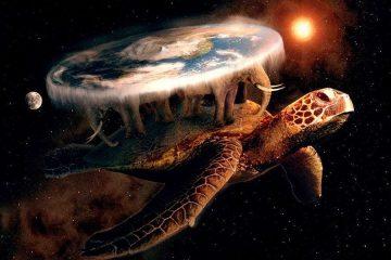 tierra-plana-tortuga