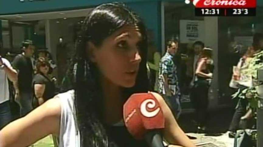 Viviana Colmenero ahora trabaja como mantera