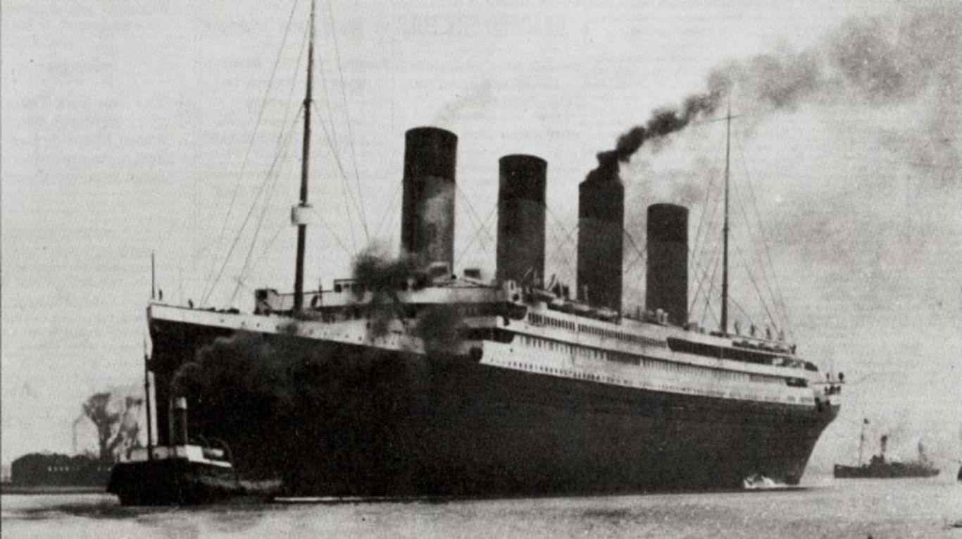 El barco que chocó contra un iceberg sería, en realidad, el Olympic.