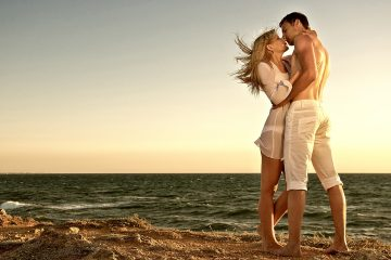 beso-en-la-playa
