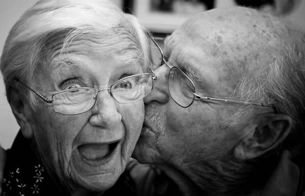 ancianos en pareja