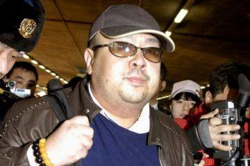 Una de las fotos más recientes de Kim Jong-nam, del sábado 11 de febrero en Beijing (AFP)
