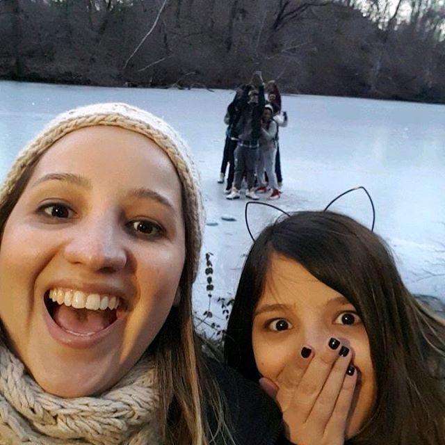 selfie en central park