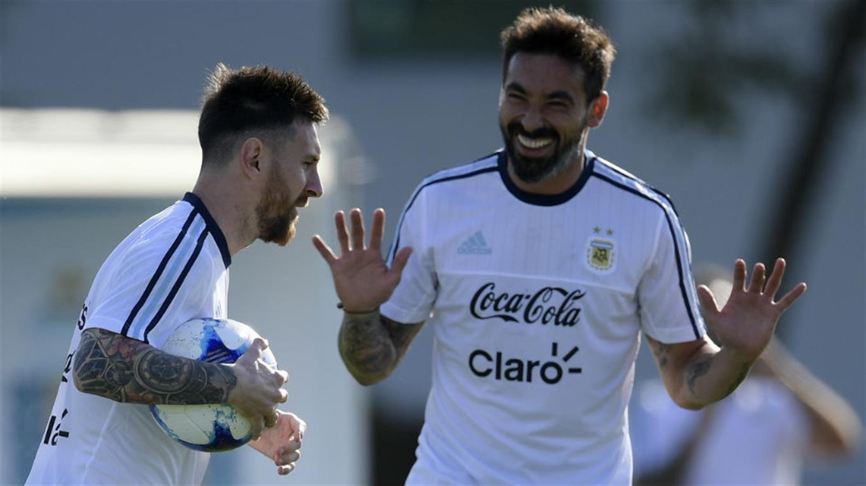 Messi Lavezzi