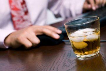 alcohol en el trabajo