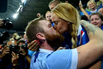 beso de islandeses