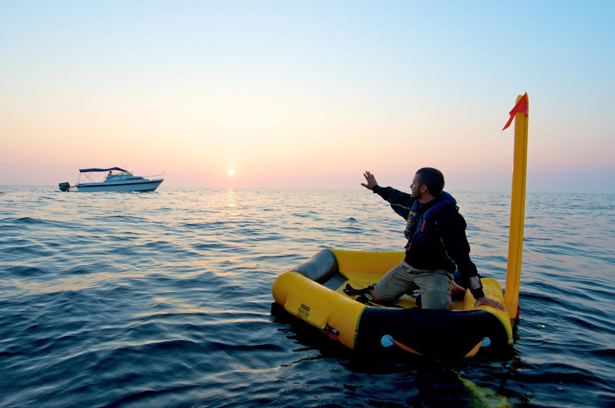 Switlik Life raft