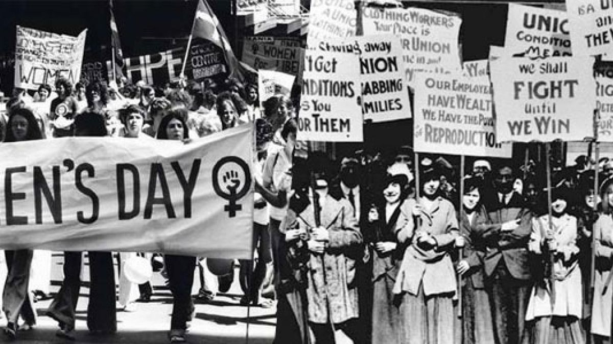 marcha mujeres historica