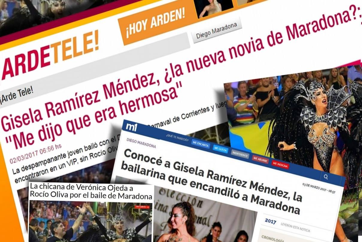 Medios nacionales hablan del encuentro entre maradona y for Ratingcero noticias del espectaculo