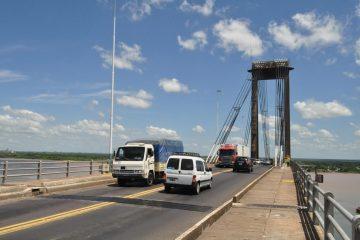 puente general belgrano calzada de día