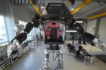 robot mecha real