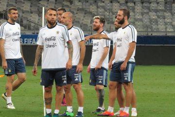 seleccion argentina entrenamiento