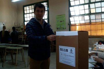 Germán Braillard Poccard votando 2017