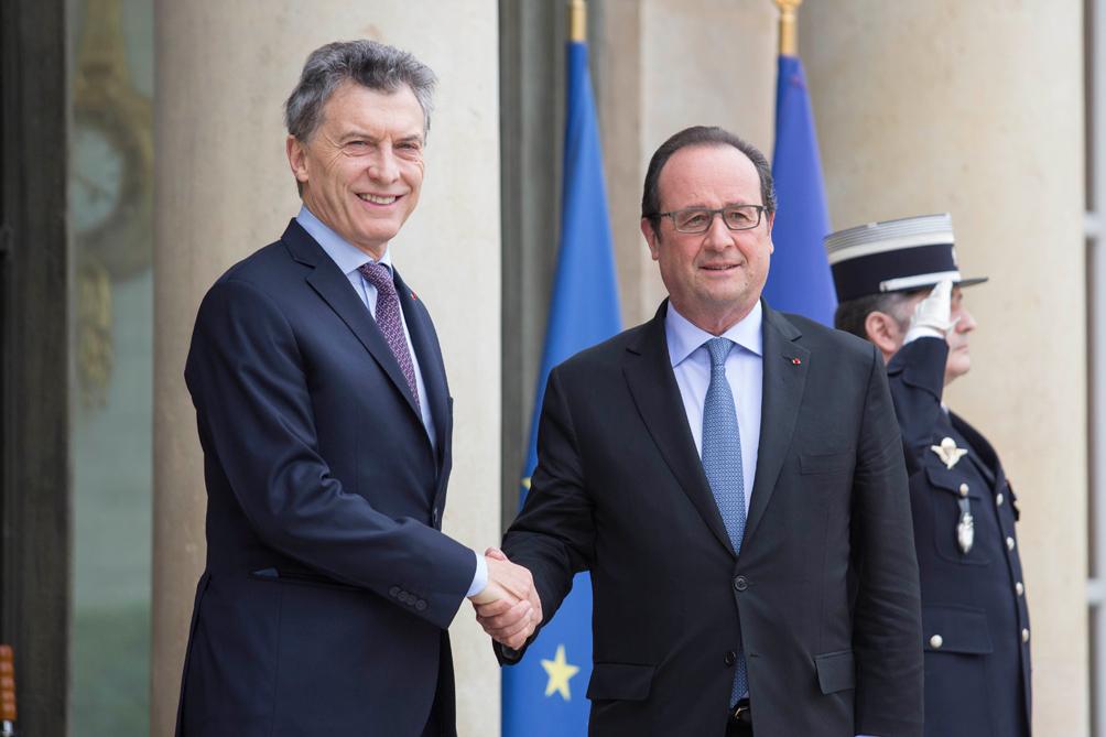 Macri - Hollande