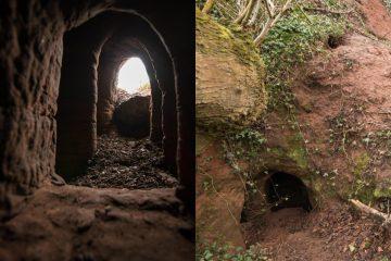 tunel templario collage