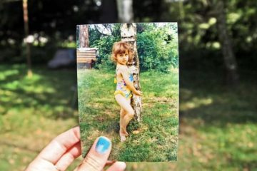 foto de niña